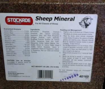 Stockade Sheep Mineral