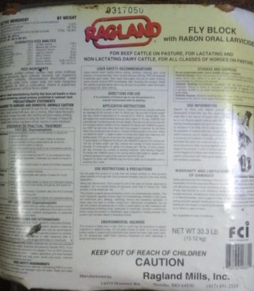 RagLand Fly Block