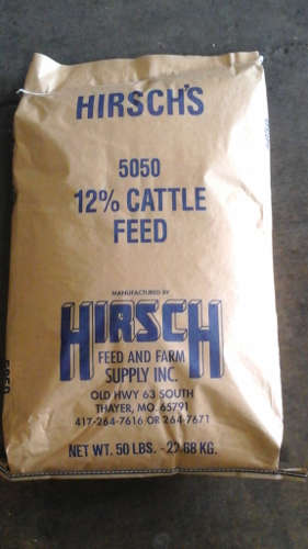 5050 12% Cattle...